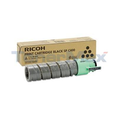 RICOH SP C400 PRINT CARTRIDGE BLACK